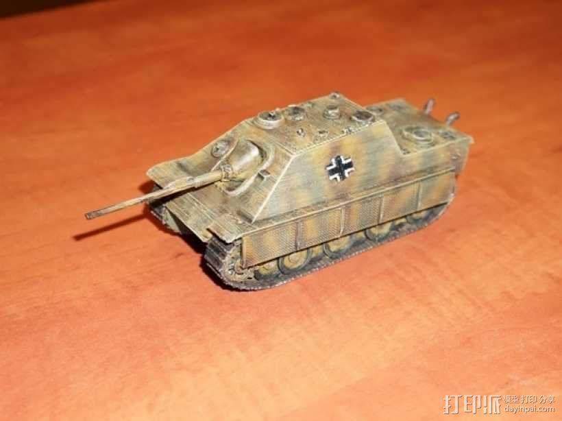 驱逐战车坦克模型 3D模型  图4