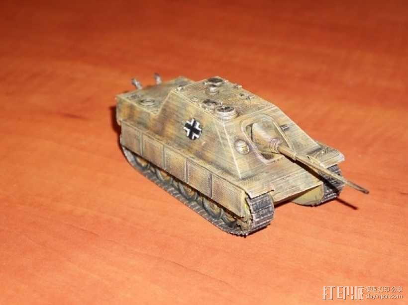 驱逐战车坦克模型 3D模型  图2