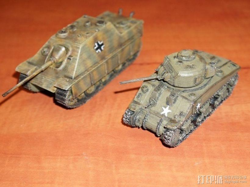 驱逐战车坦克模型 3D模型  图5