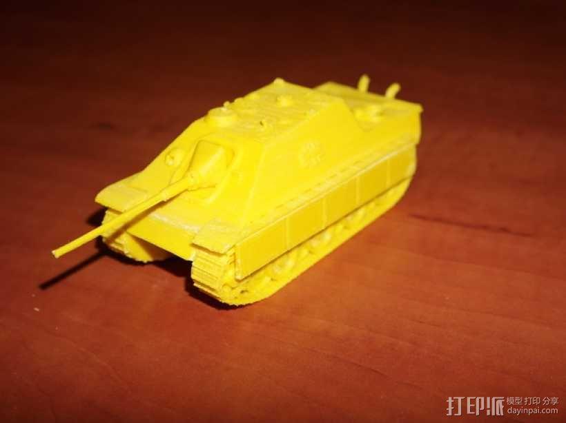 驱逐战车坦克模型 3D模型  图6