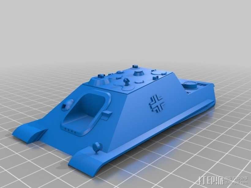 驱逐战车坦克模型 3D模型  图7