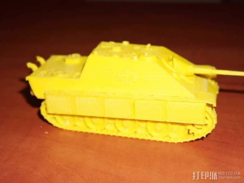 驱逐战车坦克模型 3D模型  图10