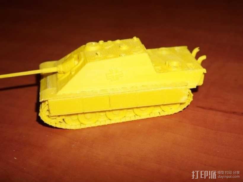 驱逐战车坦克模型 3D模型  图11