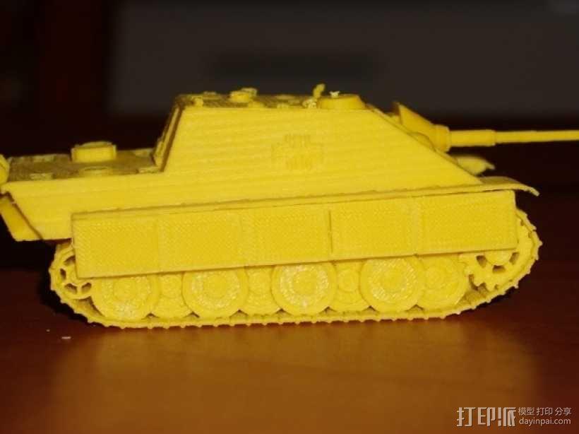 驱逐战车坦克模型 3D模型  图12