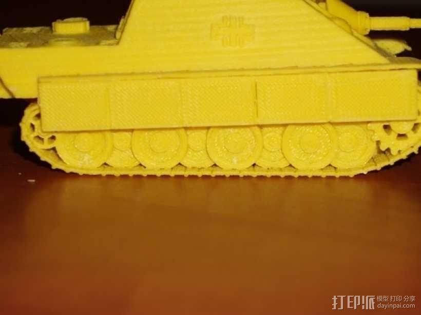 驱逐战车坦克模型 3D模型  图13