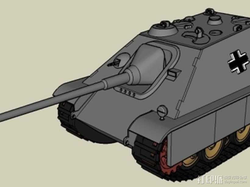 驱逐战车坦克模型 3D模型  图19