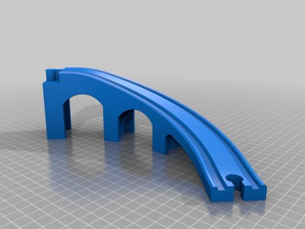 得宝桥梁匝道 3D模型  图1
