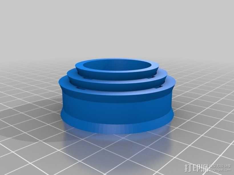 定制化望远镜 3D模型  图2