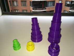 定制化望远镜 3D模型