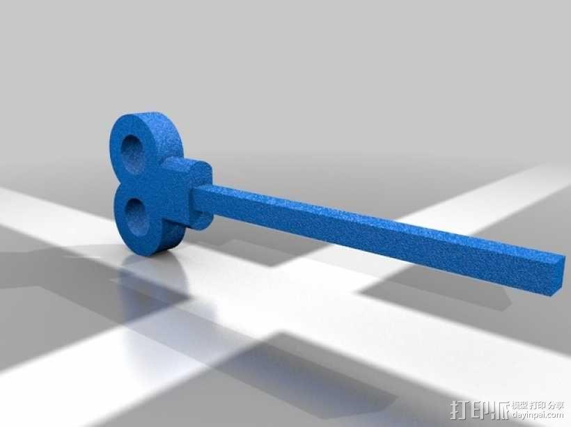 心形齿轮模型 3D模型  图2