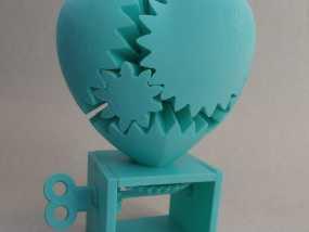 心形齿轮模型 3D模型