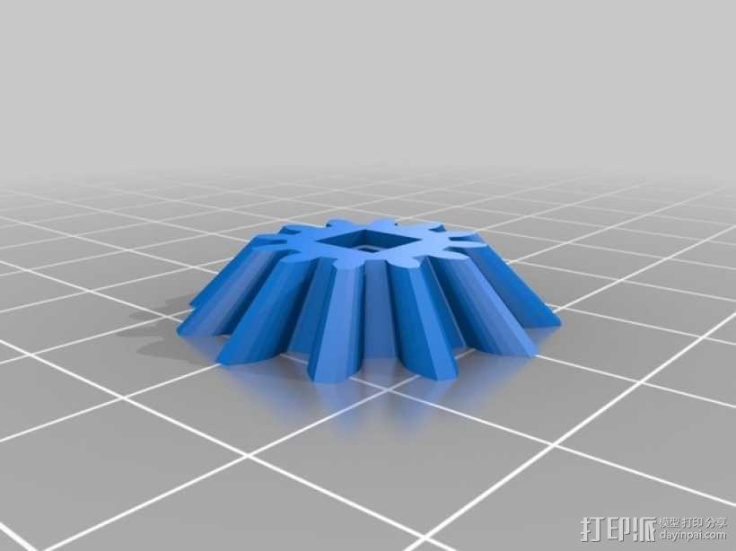 心形齿轮模型 3D模型  图4