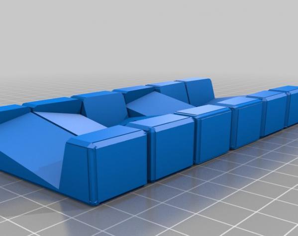 六面鲁班锁模型 3D模型  图2