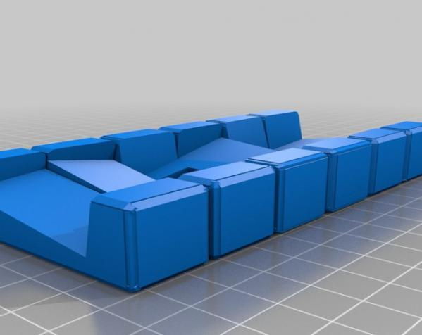 六面鲁班锁模型 3D模型  图3