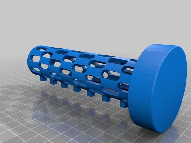 迷你密码筒 3D模型  图2