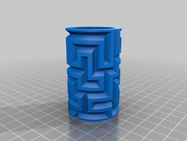 迷你圆柱体玩具 3D模型  图3