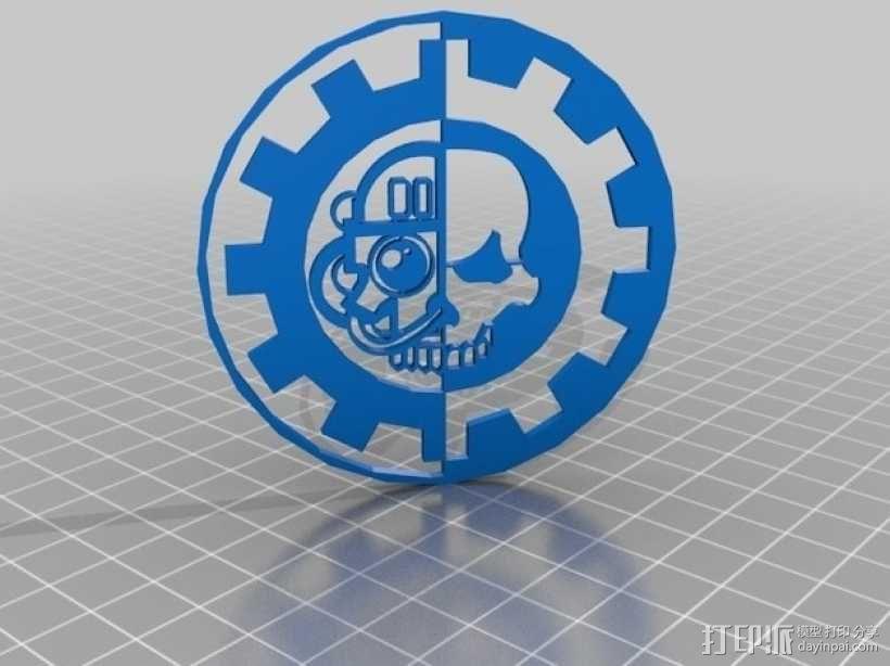 战锤:机械神教 3D模型  图2