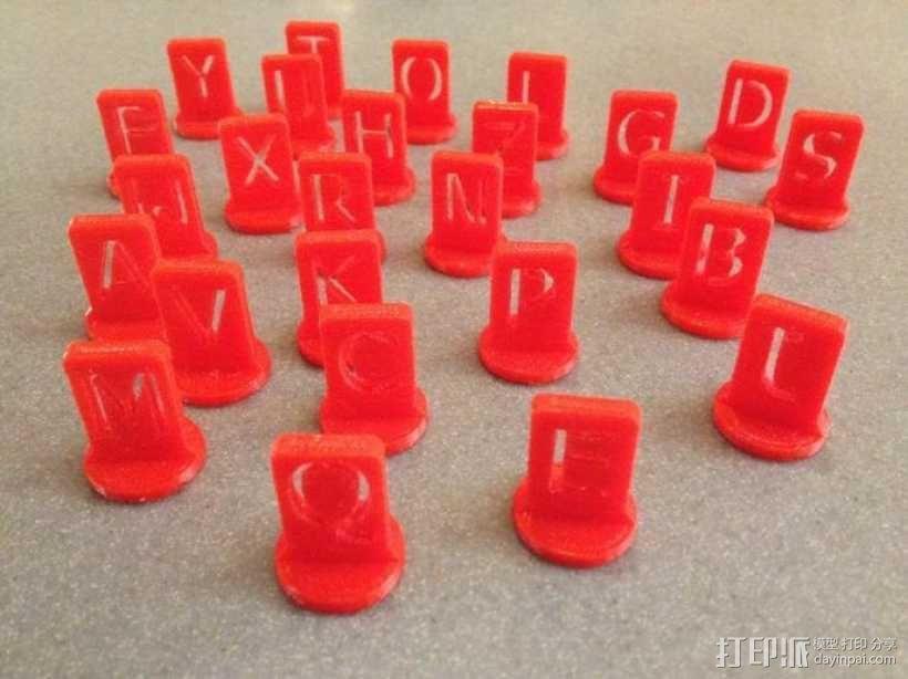 游戏战争棋子 3D模型  图1