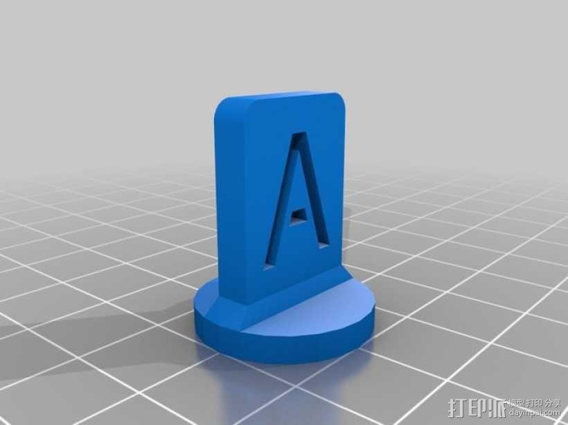 游戏战争棋子 3D模型  图3