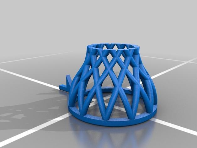 桌面式篮球框 3D模型  图4
