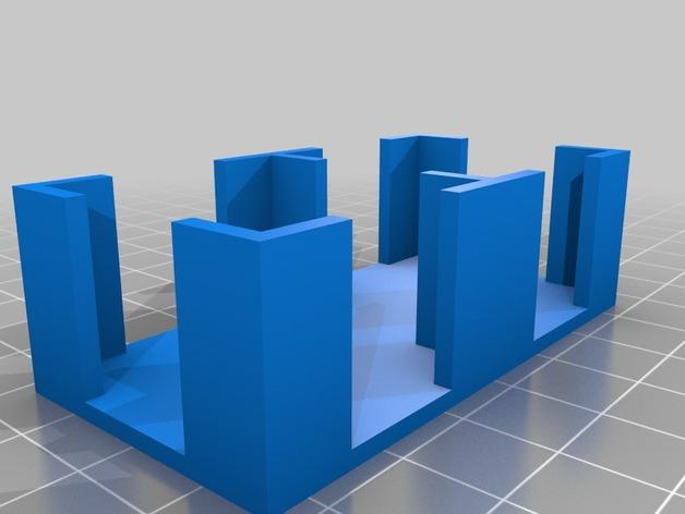 Krosmaster游戏卡托盘 3D模型  图2