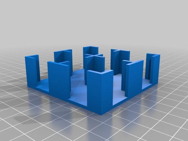 Krosmaster游戏卡托盘 3D模型  图3