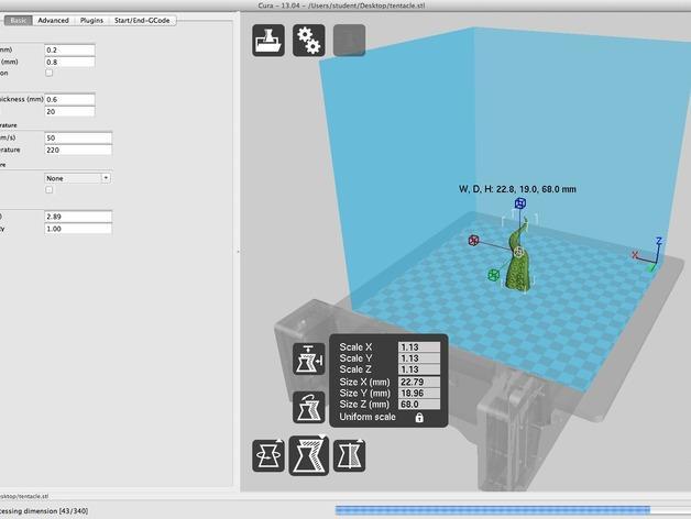 触手象棋棋子 3D模型  图4