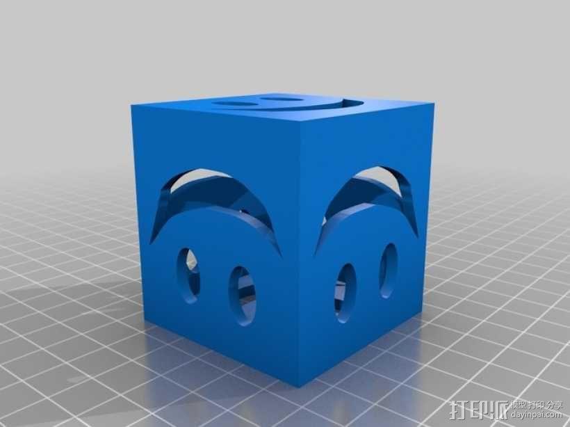 迷你笑脸盒 3D模型  图2