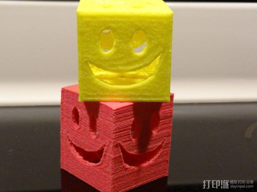 迷你笑脸盒 3D模型  图1