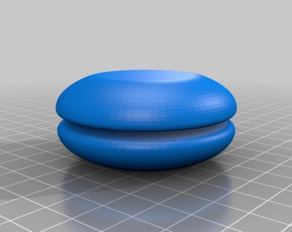 迷你溜溜球模型 3D模型  图2