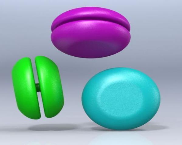 迷你溜溜球模型 3D模型  图1