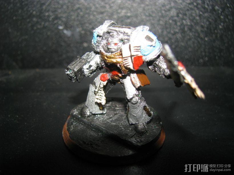 星际战士终结者模型 3D模型  图6