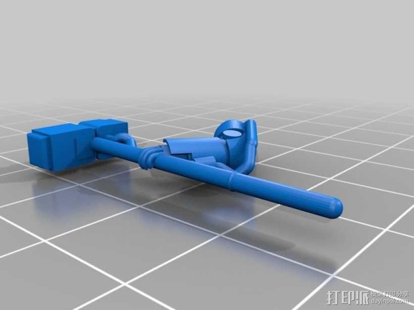 星际战士终结者模型 3D模型  图8