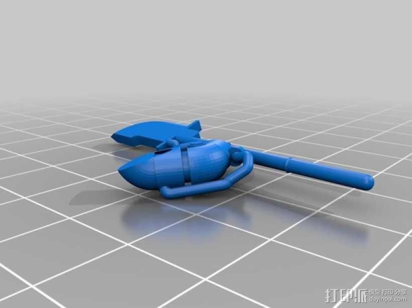 星际战士终结者模型 3D模型  图11