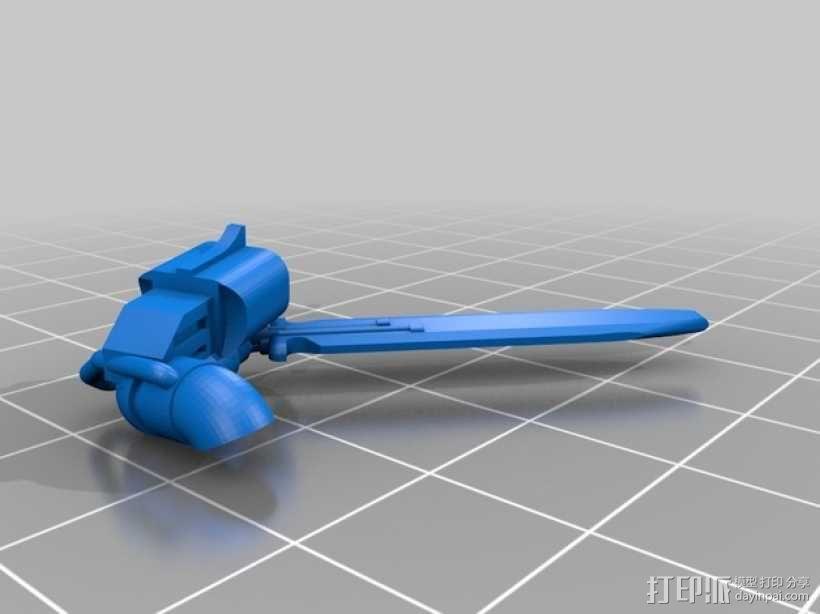 星际战士终结者模型 3D模型  图10