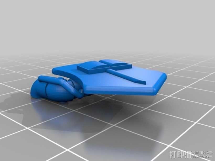 星际战士终结者模型 3D模型  图16