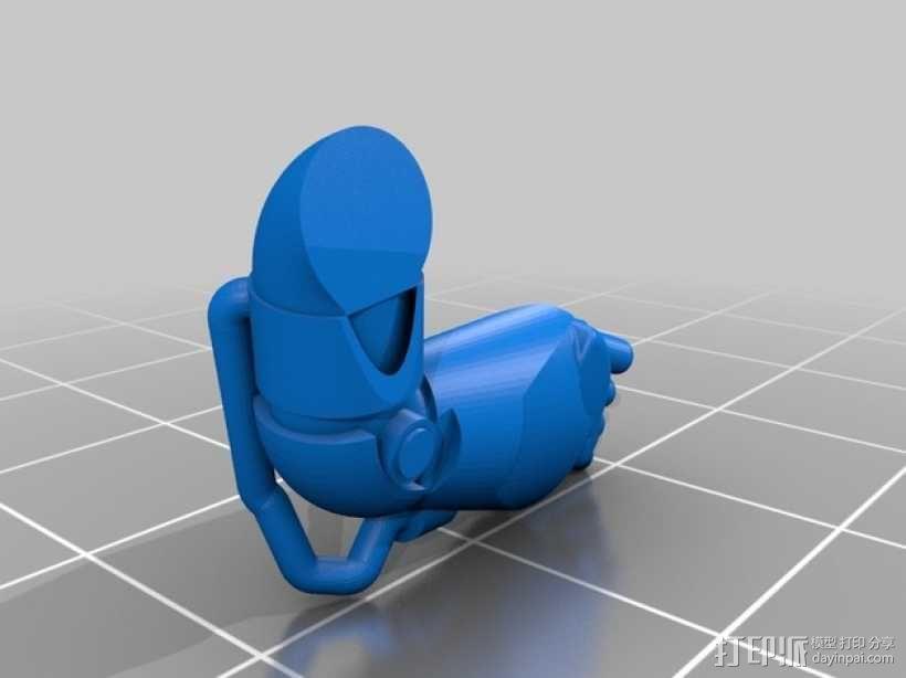 星际战士终结者模型 3D模型  图17
