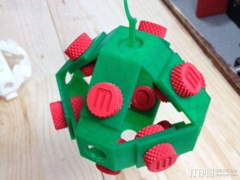 机械复古小球Makerball 3D模型  图5