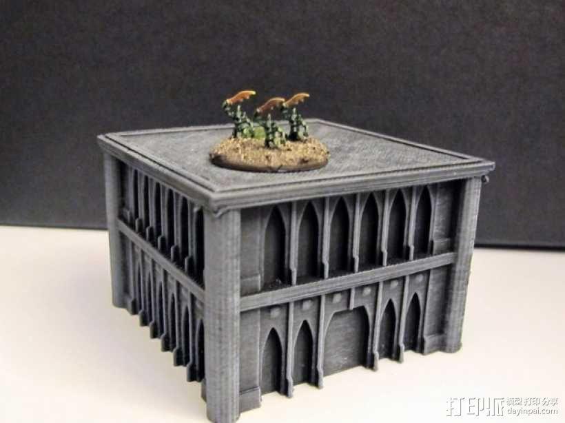 战锤Epic 40k:哥特式建筑 3D模型  图3