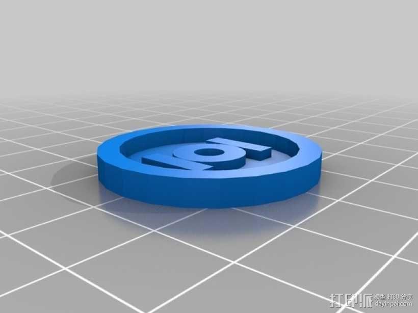 乐高玩具:绿灯侠 3D模型  图4