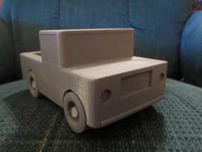 迷你玩具卡车模型 3D模型