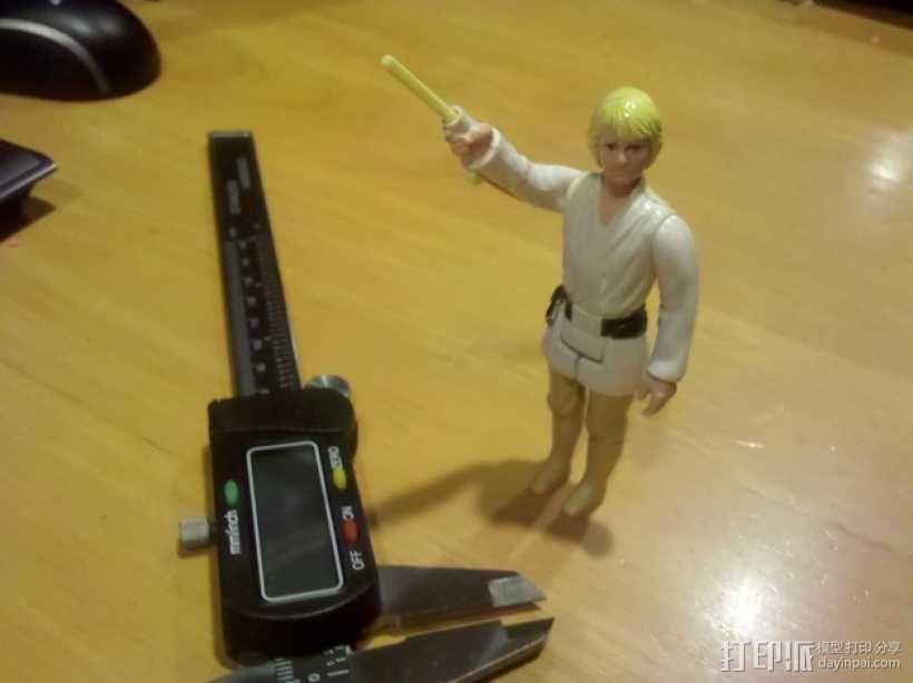 卢克·天行者:光剑 3D模型  图1