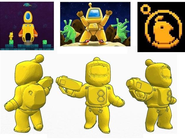 迷你星际人模型 3D模型  图2