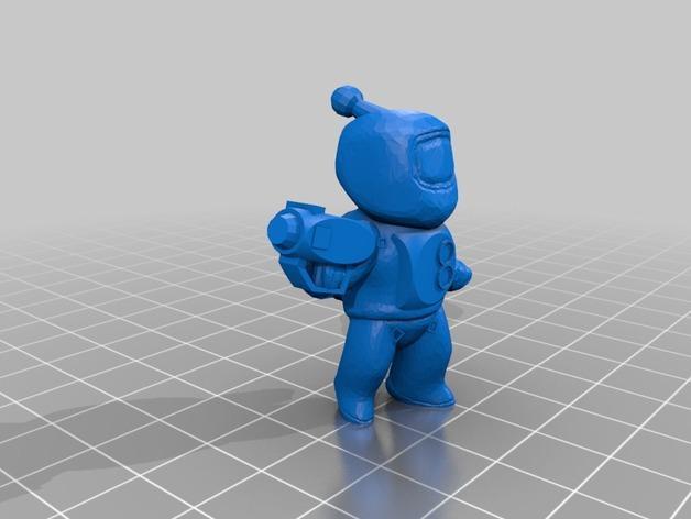迷你星际人模型 3D模型  图3