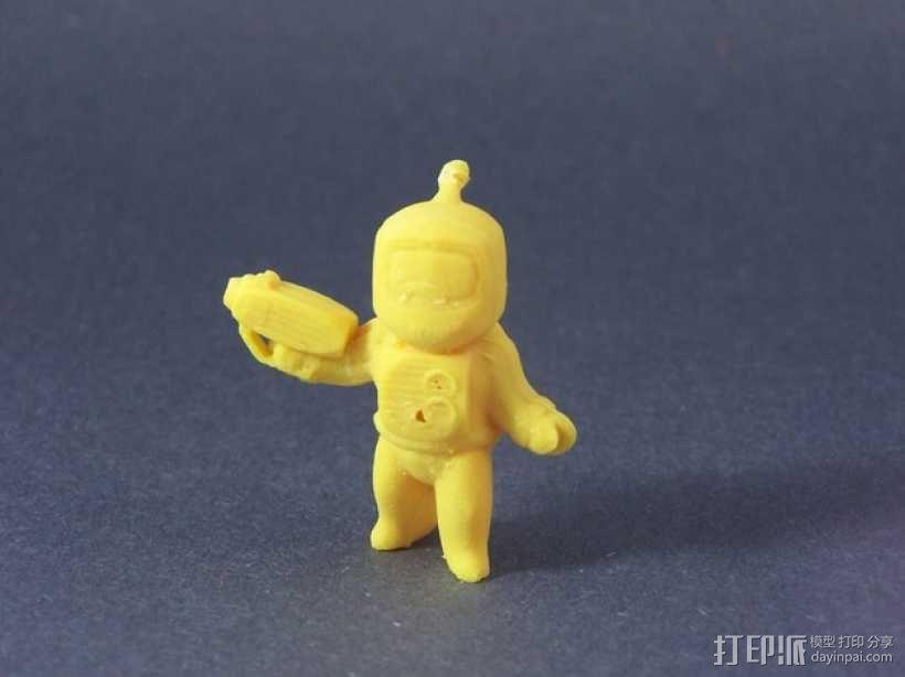迷你星际人模型 3D模型  图5