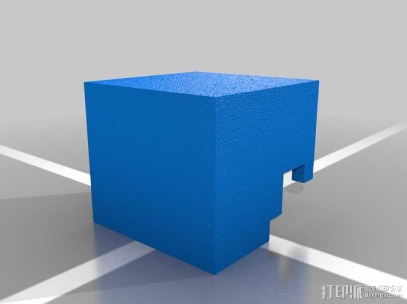 Minecraft:Steve头盔 3D模型  图6