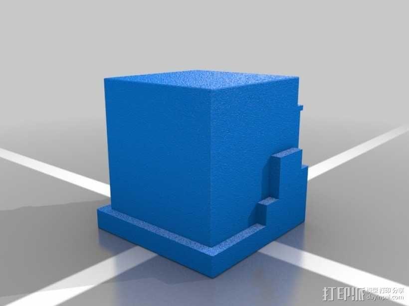 Minecraft:Steve头盔 3D模型  图7