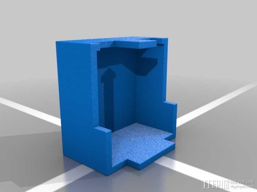 Minecraft:Steve头盔 3D模型  图8