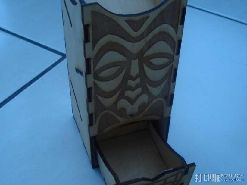 Tiki骰子塔模型 3D模型  图2