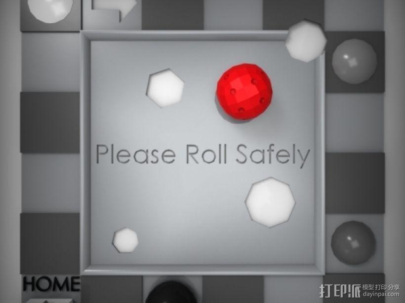 迷你球形骰子模型 3D模型  图2